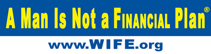 WIFE.org Bumper Sticker