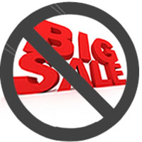 Big Sale -- Not!